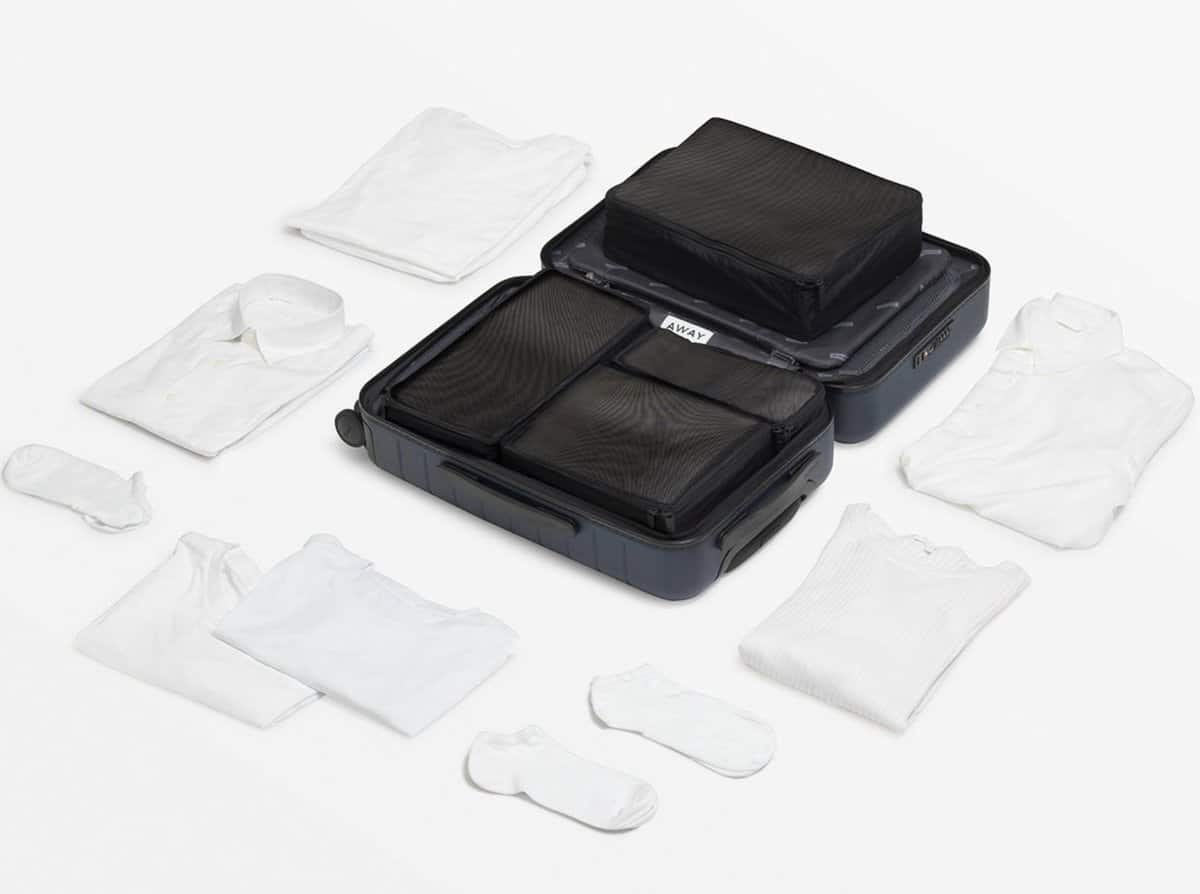 Gifts for Minimalists – Away Packing Cubes
